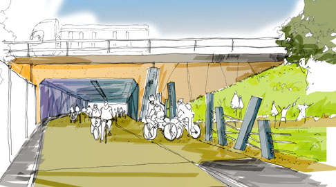 Urban Vision have finalised the designs for a new cycle and walking link between Winton and the bustling commerce hub of Port Salford.