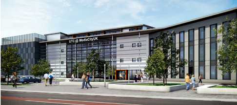 Plans Approved for UTC at MediaCityUK