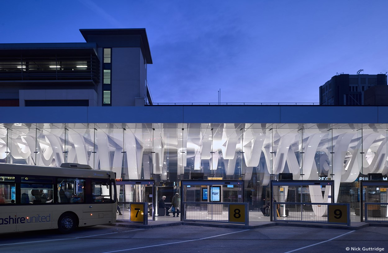 Capita real estate and infrastructure blackburn bus station for Blackburn home