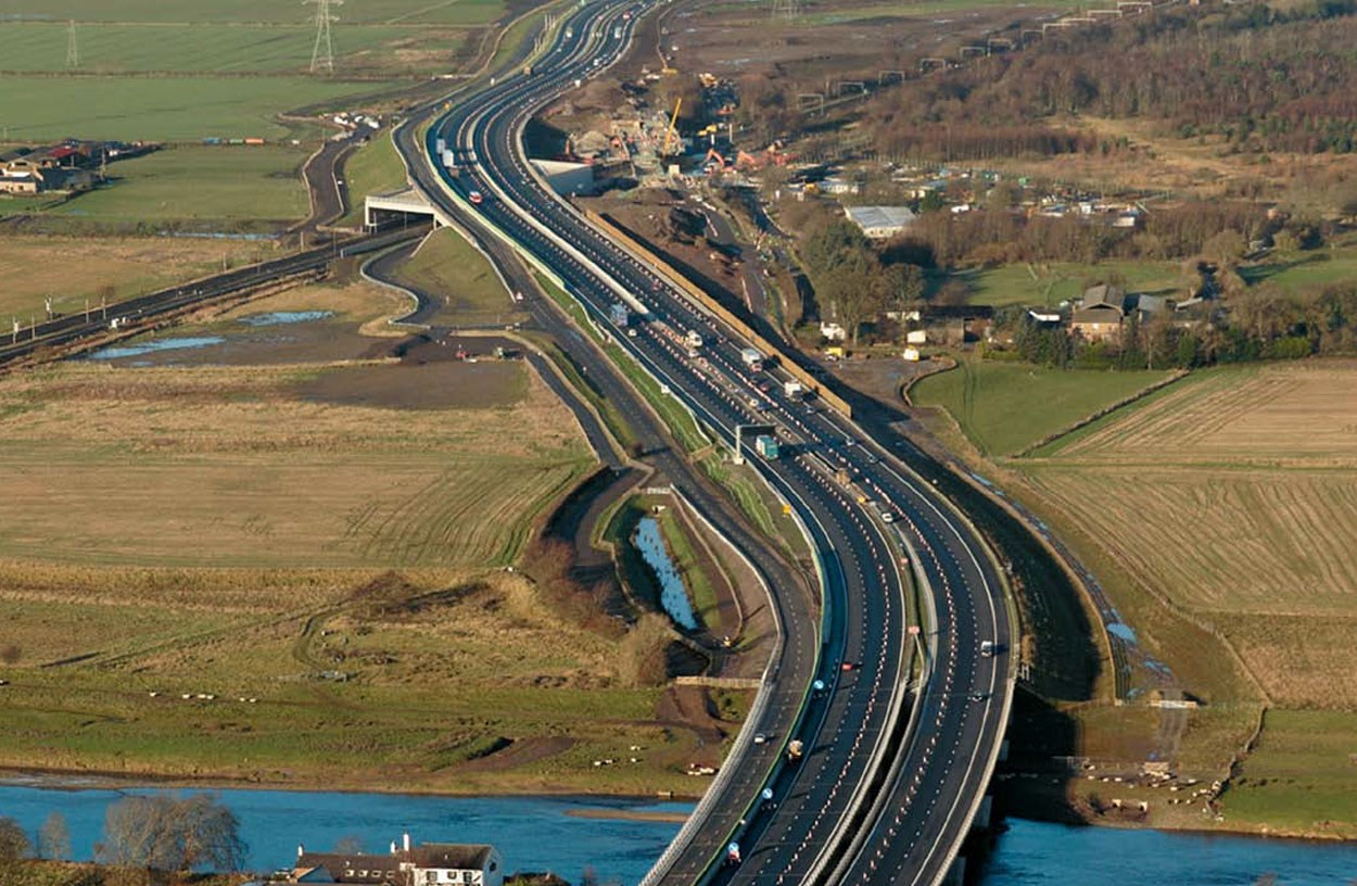 Church Village Bypass, South Wales