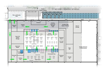 IHSS Ground floor layout