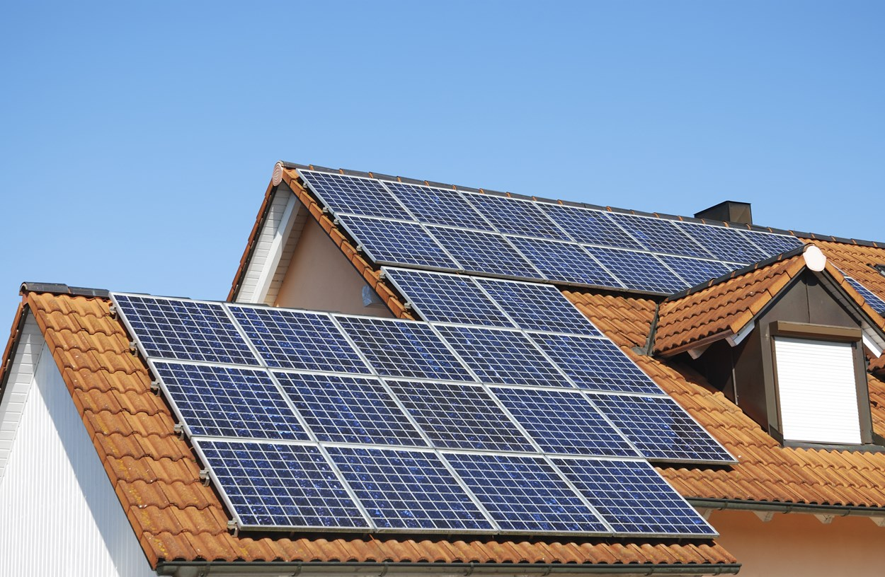 Solar PV for social housing