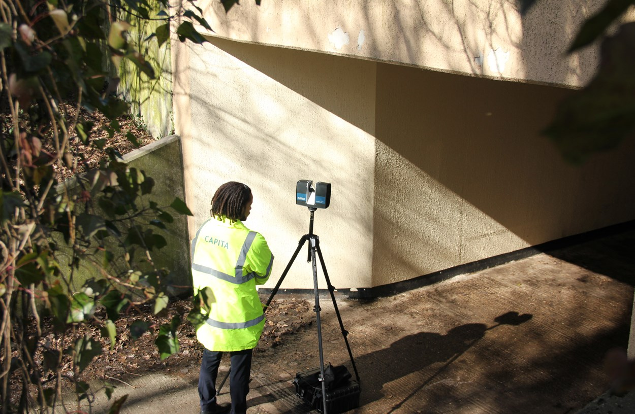 Capita announces new 3D laser scanning capability
