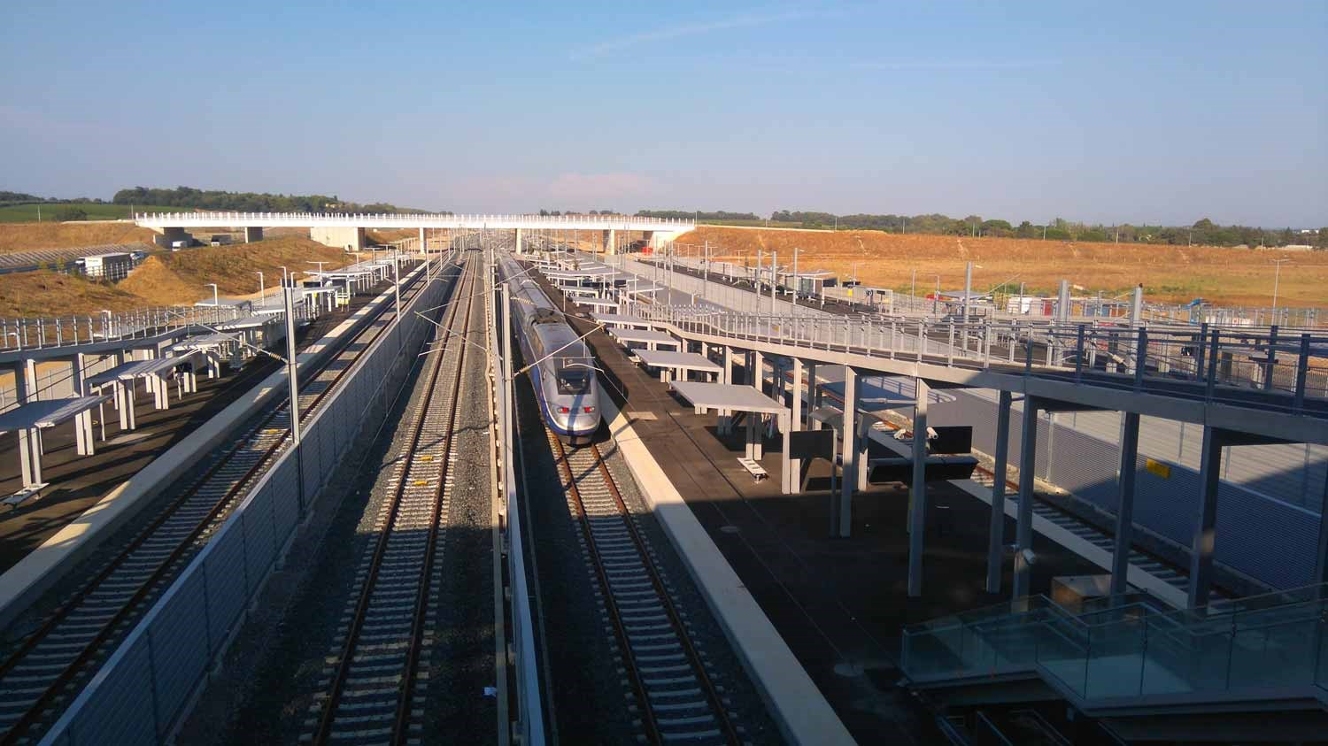 LGV CNM High Speed Railway, France